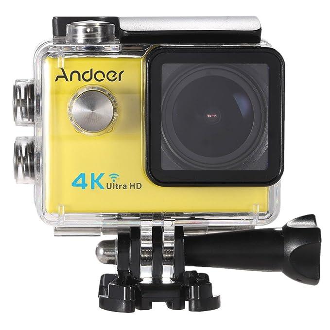 9 opinioni per Action Cam 4k Andoer Action Camera ,Videocamera WIFI Ultra HD 1080p / 60