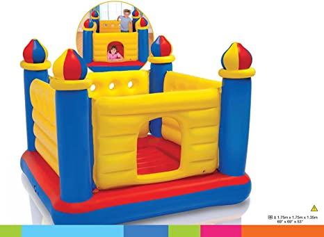 Intex 48259NP - Castillo inflable multicolor: Amazon.es: Juguetes y juegos