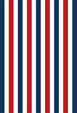 Amazon Com Csfoto 5x6ft Background For Colorful Striped Red Blue