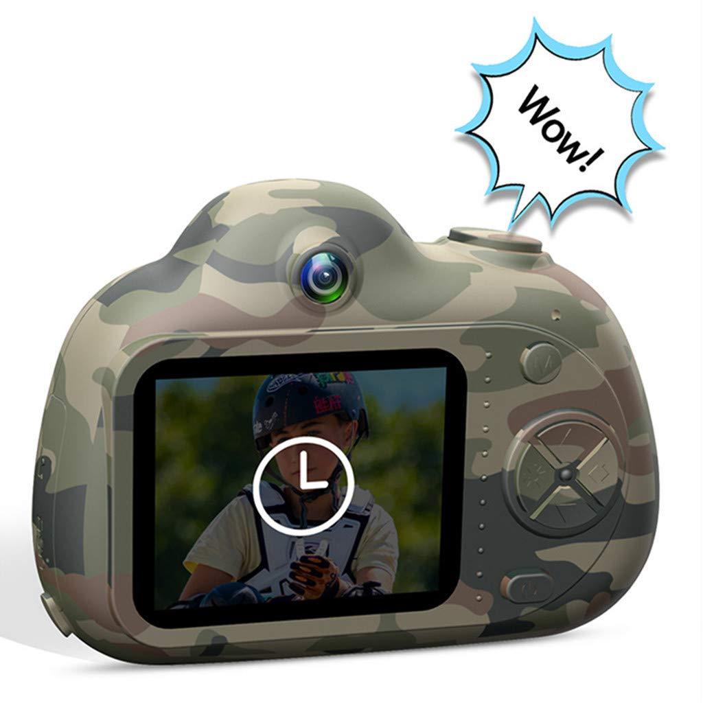 Fcostume Kinderspielzeug Kompakte Kameras Lernspiel Für Kinder Geschenke 8MP HD Video Camera Gifts (Rot)
