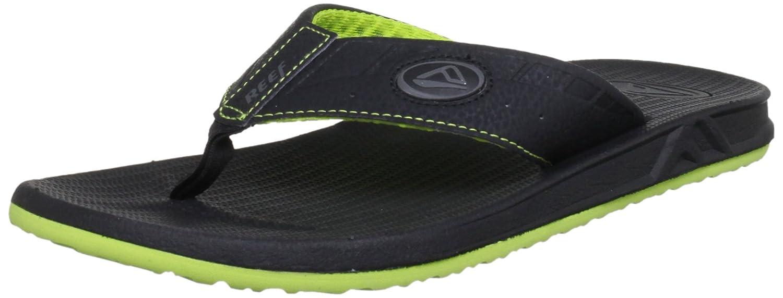Reef Phantom Mens Sandals | Flip Flops For Men With Cushion Bounce Footbed | Waterproof Phantom Speed Logo