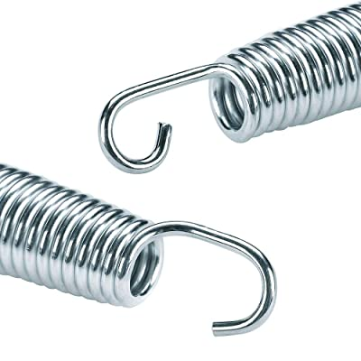 10Pcs Premium Solid Trampoline Springs 5.5//6.5//7//8.5inch Spring Fittings