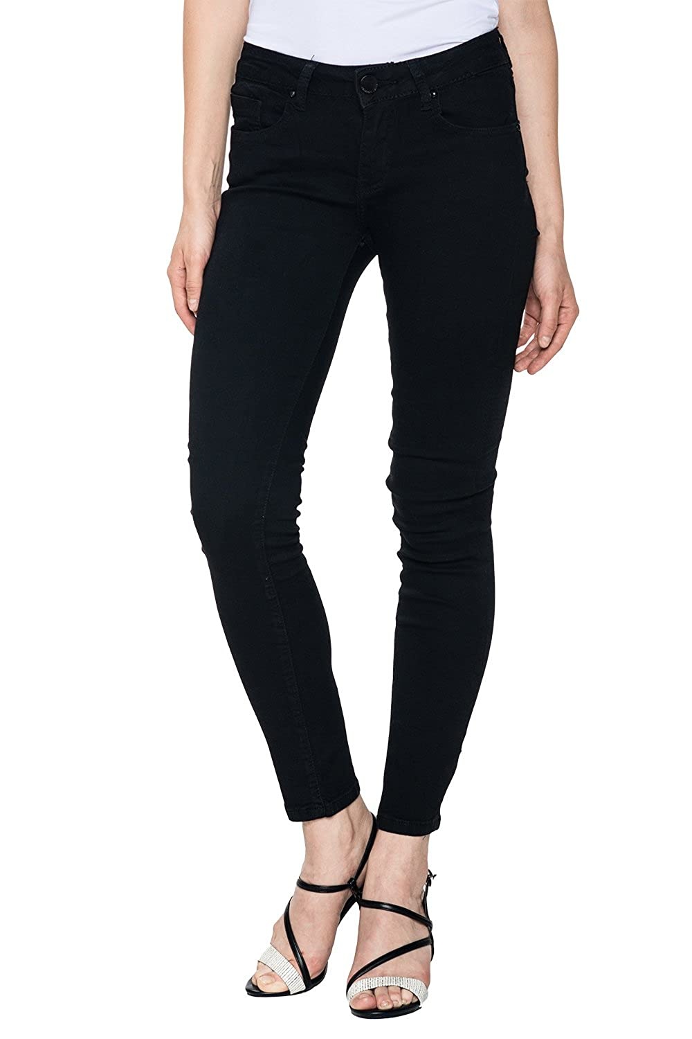 5558f037e3d high-quality Glostory Women s Skinny Jeans Casual Jegging Stretch Denim  Pencil Pants 2104B
