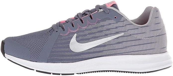 Nike Downshifter 8 (GS), Zapatillas de Trail Running para Niños, Multicolor (Light Carbon/Mtlc Pewter/Peat Moss/Black 000), 37.5 EU: Amazon.es: Zapatos y complementos