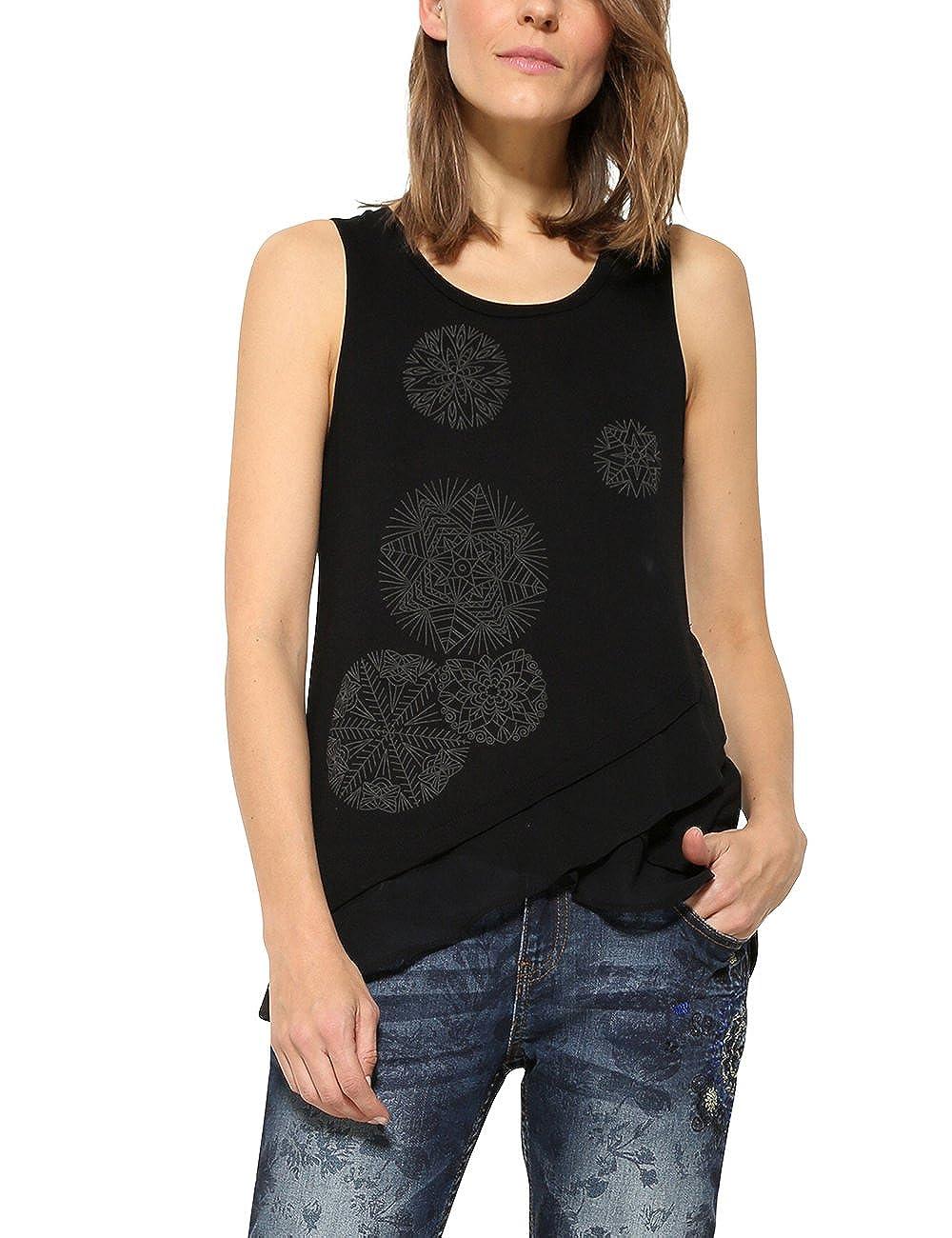 Desigual TS_AGU Camiseta para Mujer