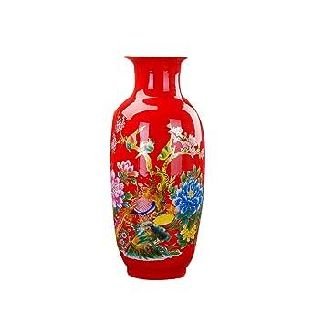 Amazon Com Vases Modern Home Decorations Porcelain Dried