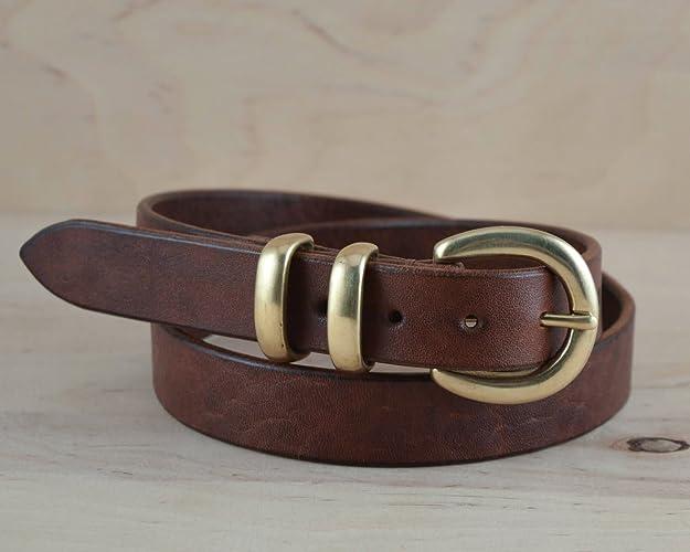 14d305871 Amazon.com  Women leather belt