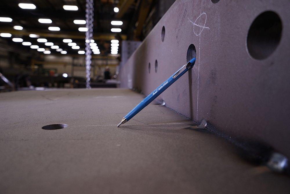 Markal 96006 - Marcador de metal plateado (1 soporte, 1 recambio), color plateado, 1 Holder, plata, 1: Amazon.es: Industria, empresas y ciencia