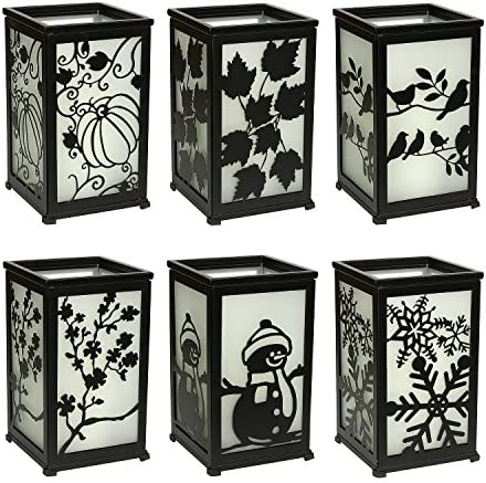 home, kitchen, home décor, candles, holders, candleholders,  decorative candle lanterns 1 discount GiveU Decorative Led Candle Lantern with Timer Rustic in USA