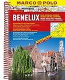 MARCO POLO Benelux, Belgien, Niederlande, Luxemburg 1 : 200 000 Reiseatlas, Marco Polo, 3829737025
