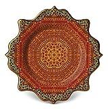 L'Objet Tabriz Rug Dessert Plate - Set of 4