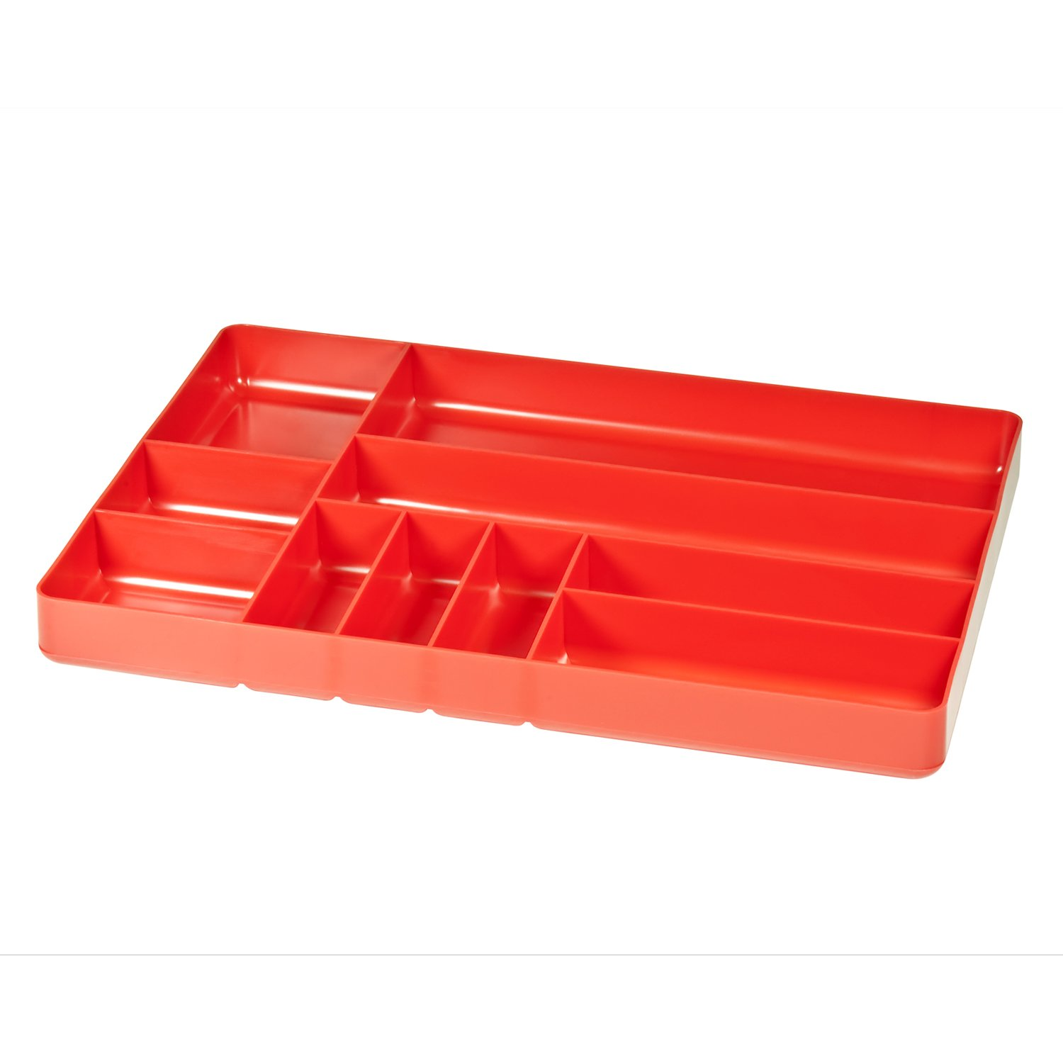 Ernst Manufacturing Organizer Tray, 10-Compartments, Blue 5012-Blue