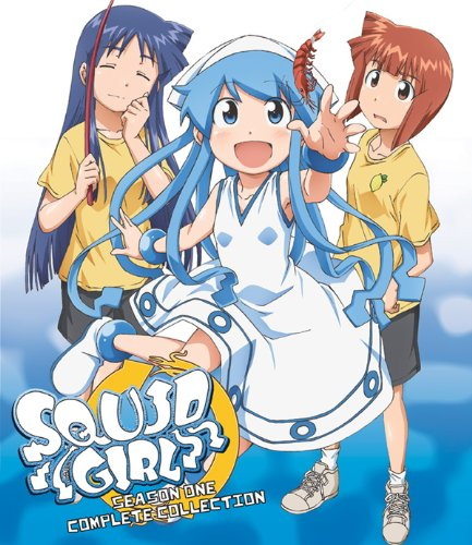 Squid Girl: Season 1 - Complete Collection [Blu-ray] (1 1 Squid Girl)
