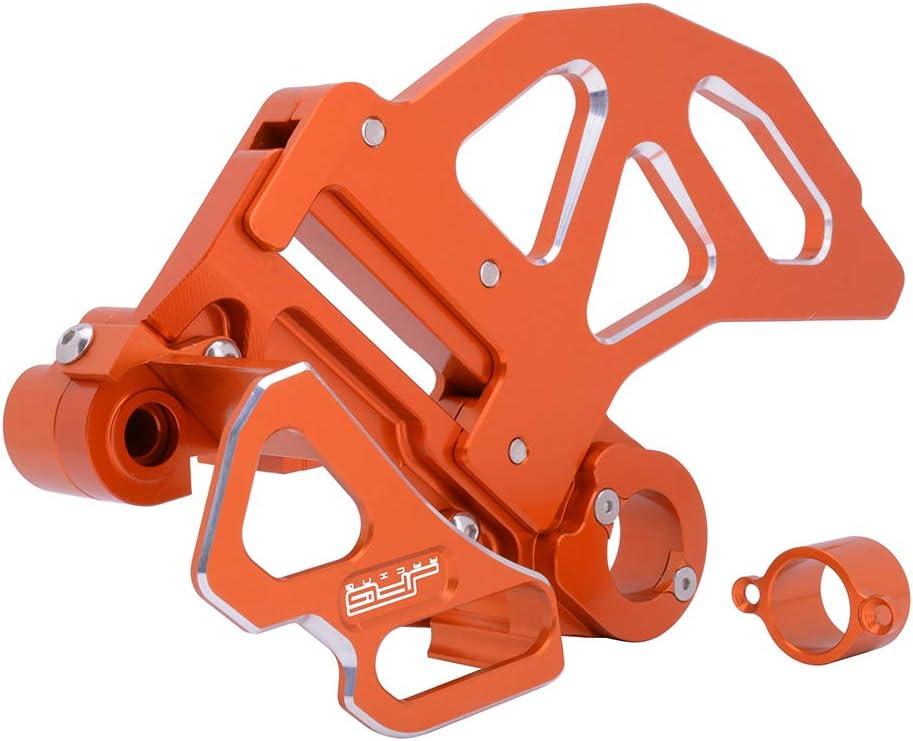 JFG Racing Kit de protección de Freno Trasero CNC, Compatible con 125-530 K.T.M SX EXC SXF EXCF XC XCW XCF XCFW SMR