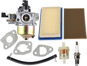 Hipa GXV140 Carburetor Air Filter for Honda GXV 140 HRB215 HRC215 HRM195 HRM215 Lawn Mower Tune Up Kits Spark Plug