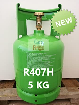 New R407h In Gas Cylinder Battery 5 Kg Net Subs Ute R404 A R404