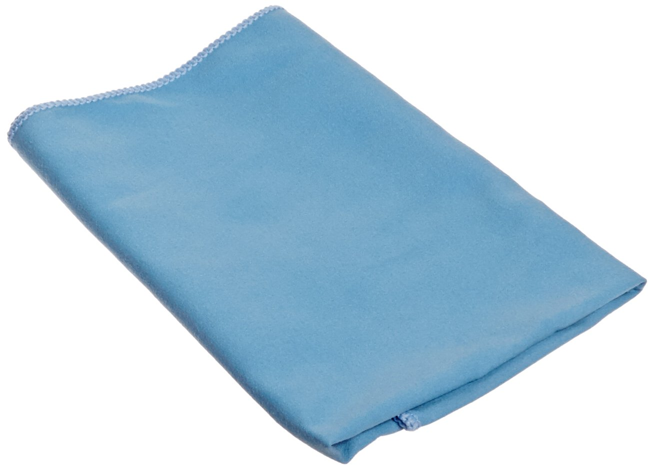 Impact LFK100 Microfiber Suede Glass Cloth, 16'' Length x 16'' Width, Blue (18 Bags of 12)