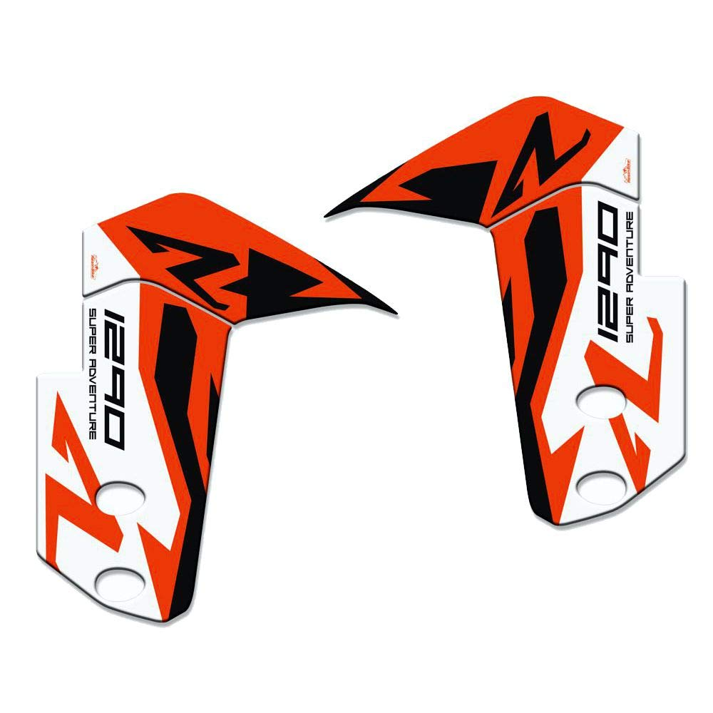 Protection 01 Fender Compatible with KTM 1290 Super Adventure-R 2018