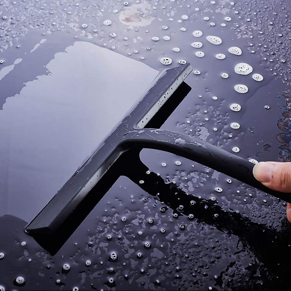 11 Inch Shower Wiper Window Glass Scraper Cleaner with Hook for Bathroom//Kitchen//Car Glass APROTII Shower Squeegee