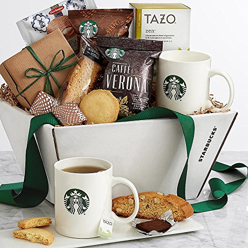 Shari's Berries - Deluxe Starbucks� Recharge and Renew - 1 Count - Gourmet Baked Good Gifts