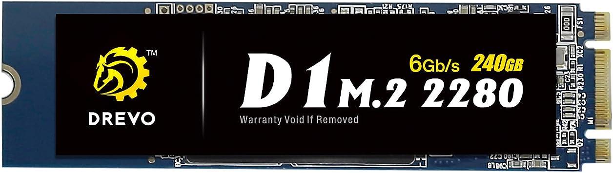 Drevo D1 M.2 2280 240 GB Interno SSD, Memoria de Estado sólido ...