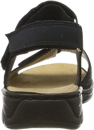 Rieker Damen 64571 15 Geschlossene Sandalen: guJY8