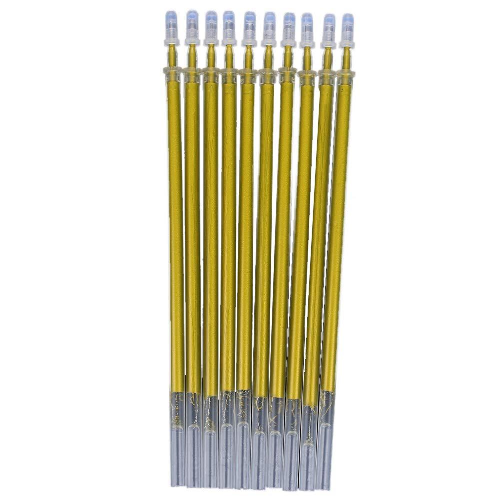 aprettysunny penna biro ricariche creativo 10pcs \/ ricarica molto 0.7mm da scuola