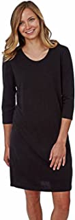 product image for Women's 3/4 Sleeve Scoop Neck Night Shirt