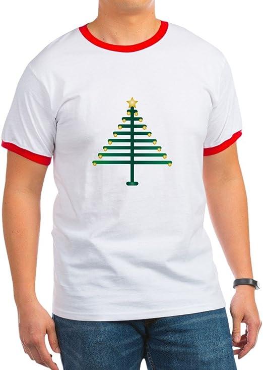 Truly Teague Organic Baby T-Shirt Christmas Tree Plain