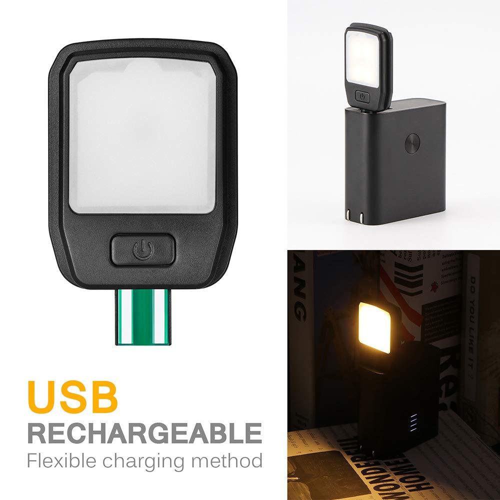 WYP USB-LED-Leselampe Augenschutz Leselampe Tragbare Bis Zu 10 Stunden Lese Clip Licht F/ür Nachtlese 4 Pegel Helligkeit Buch-Licht
