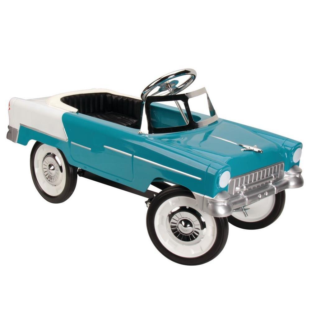 1955 Blue & White Chevy Pedal Car by Blue Diamond Classics