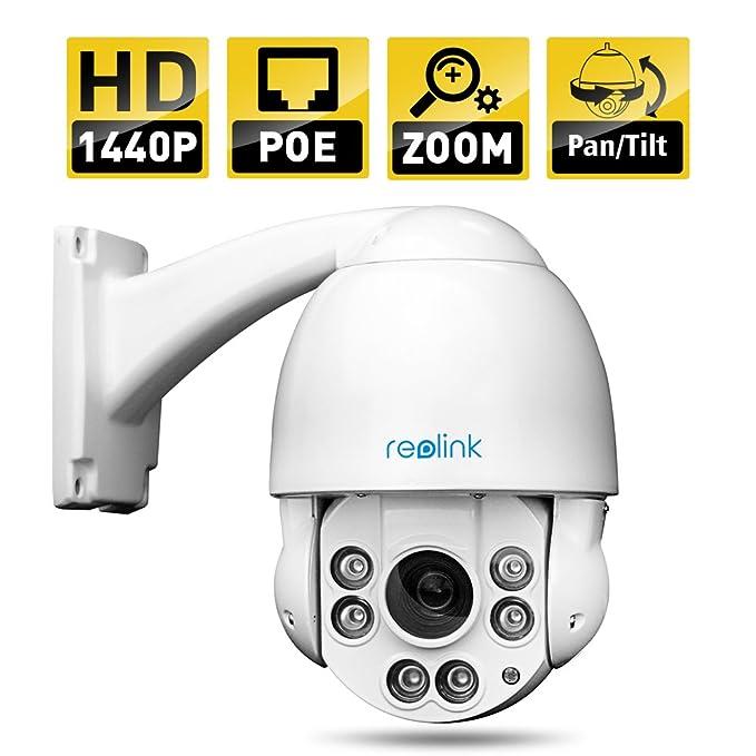 1 opinioni per Reolink- RLC423 4MP HD 4X Zoom Ottico- Visione Notturna, Controllo Remoto