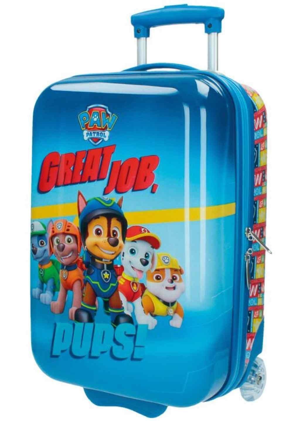 Paw Patrol 2670351 Kabinenkoffer Kindergepäck, 26 Liter, Blau