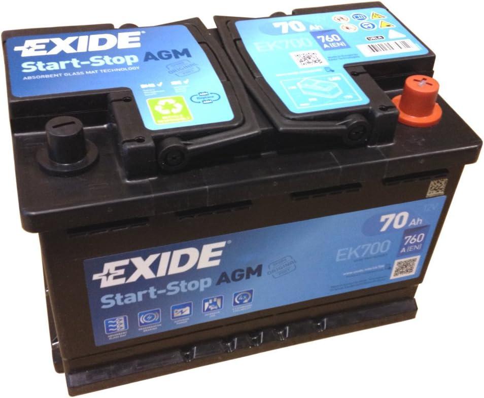 Schwarz Exide EP600 DUAL AGM 12V 70AH 760A
