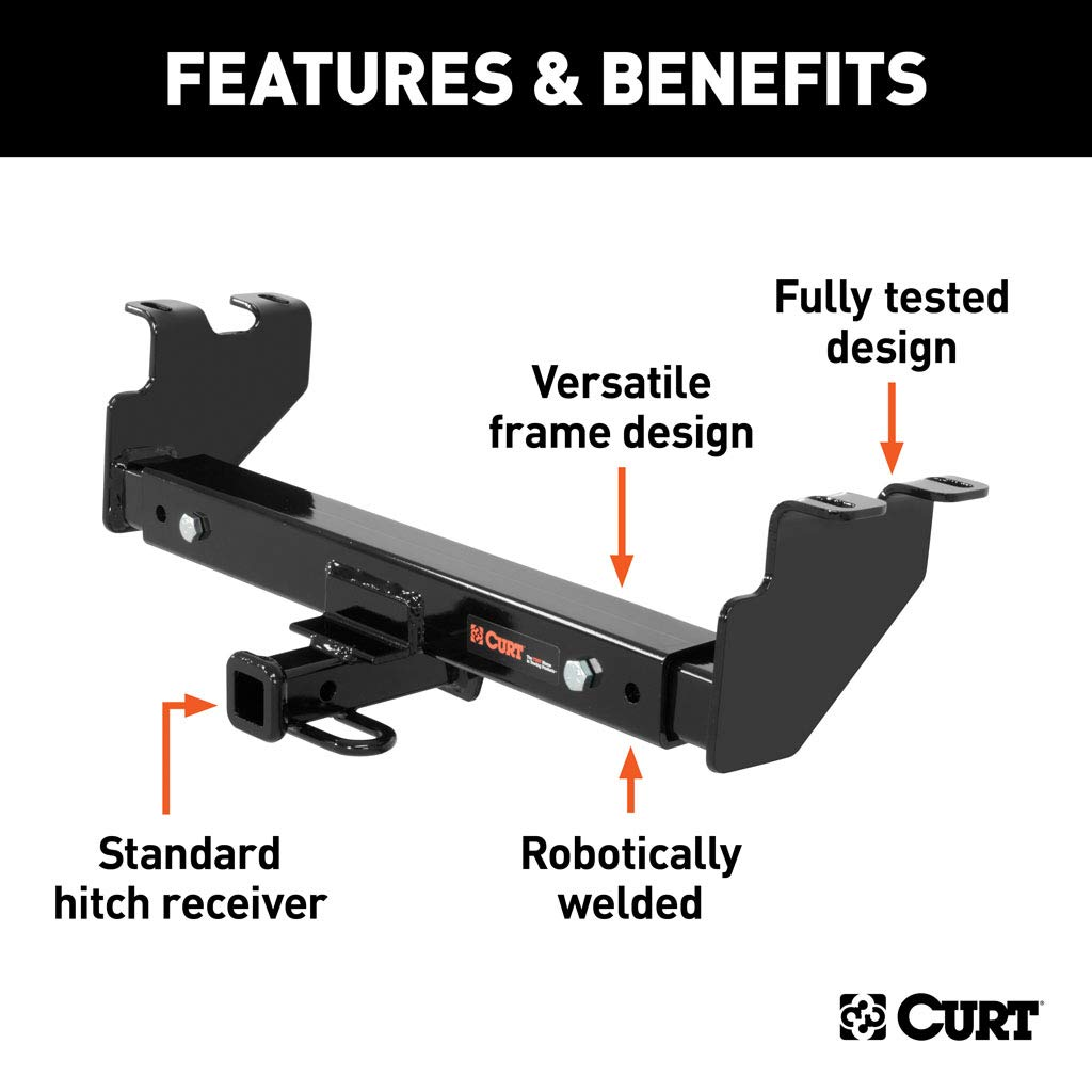 Reese 37152 Class IV Custom-Fit Hitch with 2 Square Receiver ...