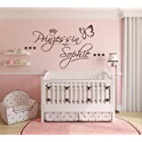 graz design wandtattoo f r kinderzimmer schriftzug kleine prinzessin rosa 67 x 40 cm. Black Bedroom Furniture Sets. Home Design Ideas