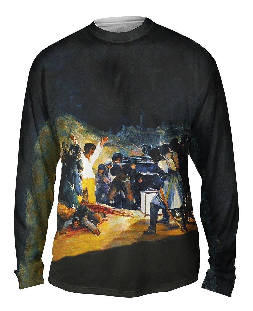 The Third Of May -TShirt- Mens Long Sleeve 1814 Yizzam- Francisco Goya