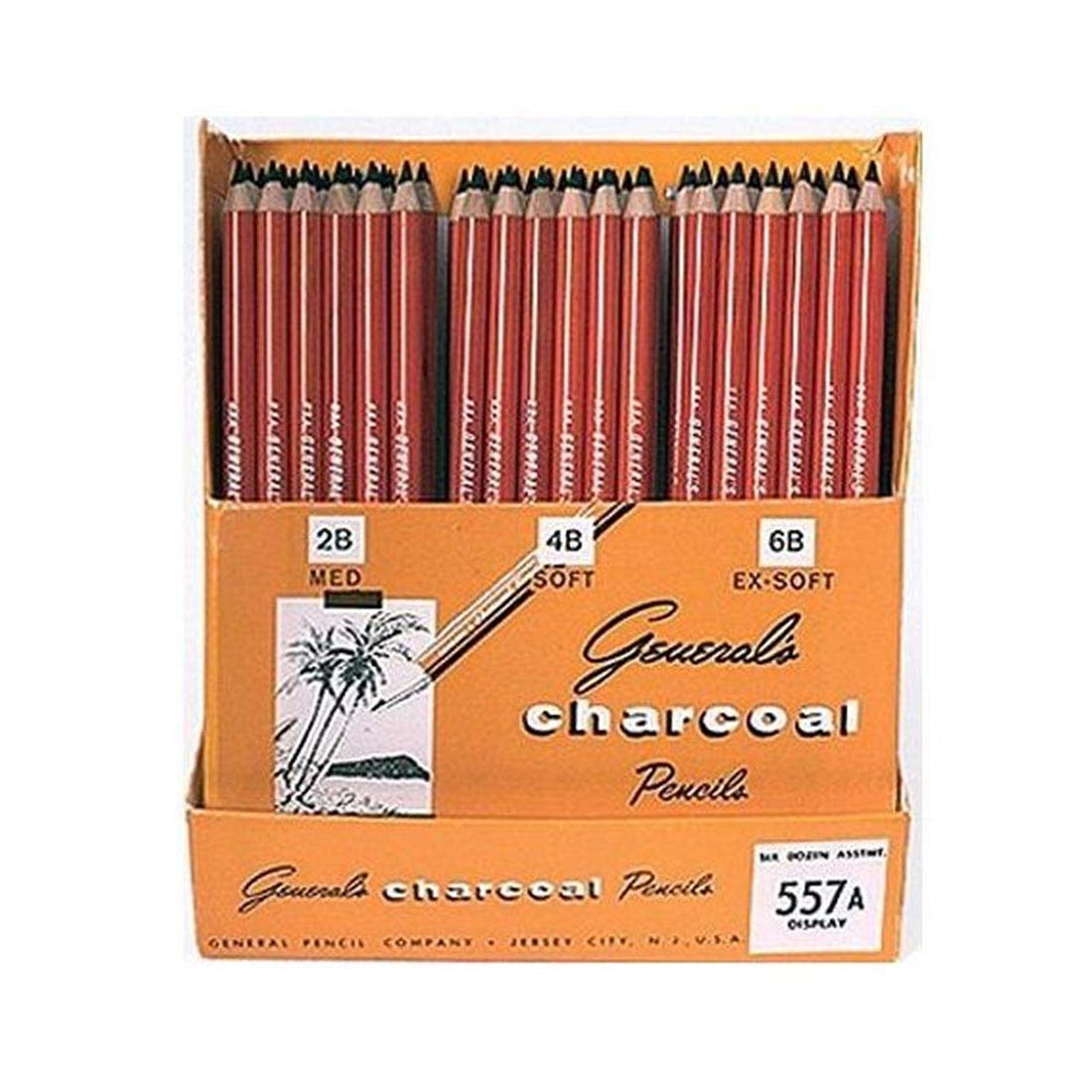 Charcoal Pencil Display by Sax