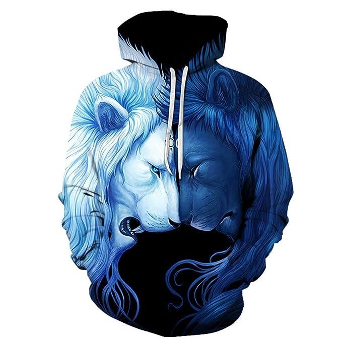check out c621e a6f1f Felpe 3D Uomo Donna Felpe Stampate Moda Novitš€ Pullover ...