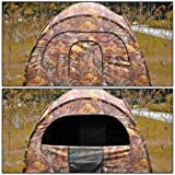 Durable-2-Person-Pro-Pop-Up-Ground-Hunting-Camping-Hiking-Blind-Steel-Frame-Camo-Tent-w-4-Windows-Zipper-Removable-Mesh-Portable-Carry-Case-for-Outdoor