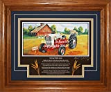 Ford Golden Jubilee-NAA 1953-1954 DL (To Dad With Love) Tractor Gift for Dad Ford Tractor Pictures Wall Decor Art