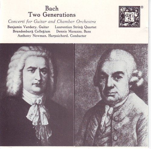 UPC 545027000669, Bach - Two Generations: Concerti for Guitar & Chamber Orchestra