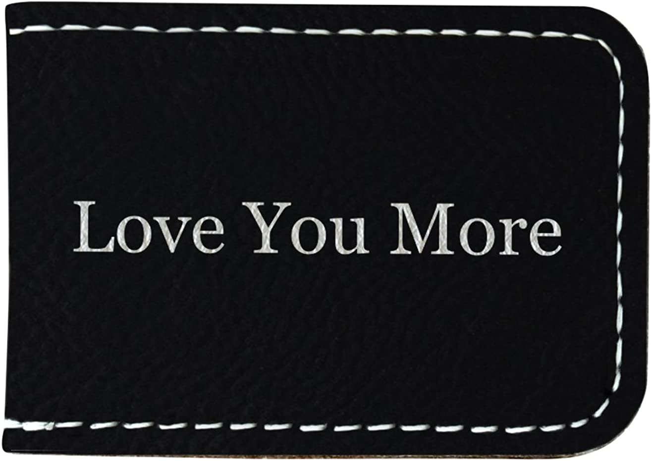 Phi Sigma Kappa Leatherette New Money Clip