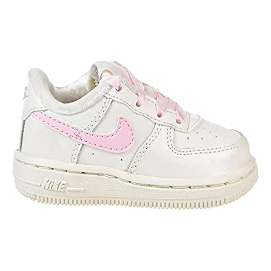 finest selection d5cf7 0dc4d NIKE Air Force 1 Toddlers' Shoes Sail/Arctic Pink 314221-130 (3 M US ...
