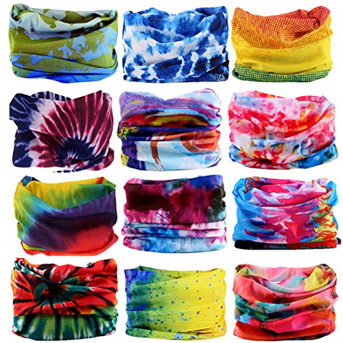 KALILY Headwear Head Wrap Sport Headband Sweatband - 200+ Patterns Magic Scarf for Camping, Running, Cycling, Fishing etc