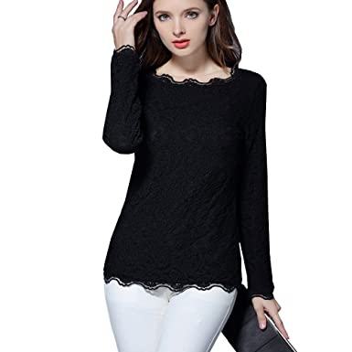Precise New Arrivals Women Lacr Crochet Long Sleeve Shirt Plus Size M-xxl Blouse Female Sexy Tops For Women Clothing Gifts Women's Clothing