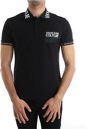 Versace Jeans Couture Polo, (Negro 899), X-Small (Talla del ...