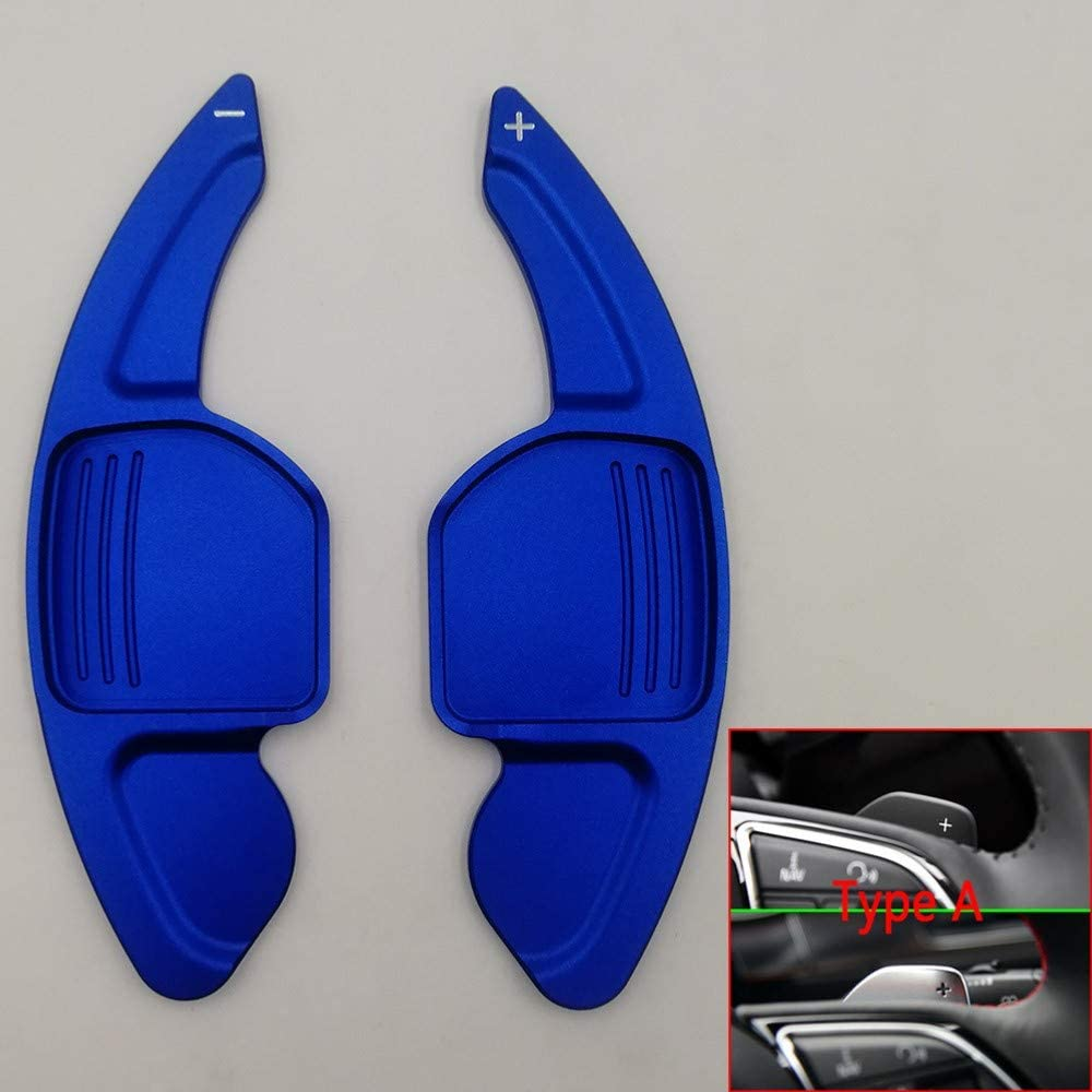 Shift Paddles,for Audi sline Quattro RS Q3 Q5 Q7 S3 S5 SQ5 SQ7 R8 A3 A4 A5 TT TTS Car Steering Wheel Paddles Extend DSG Stickers