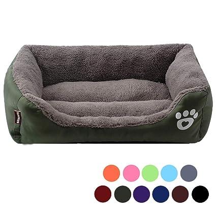 Urijk Cama para Perro o Gato, Suave, Lavable, Impermeable, Oxford, para