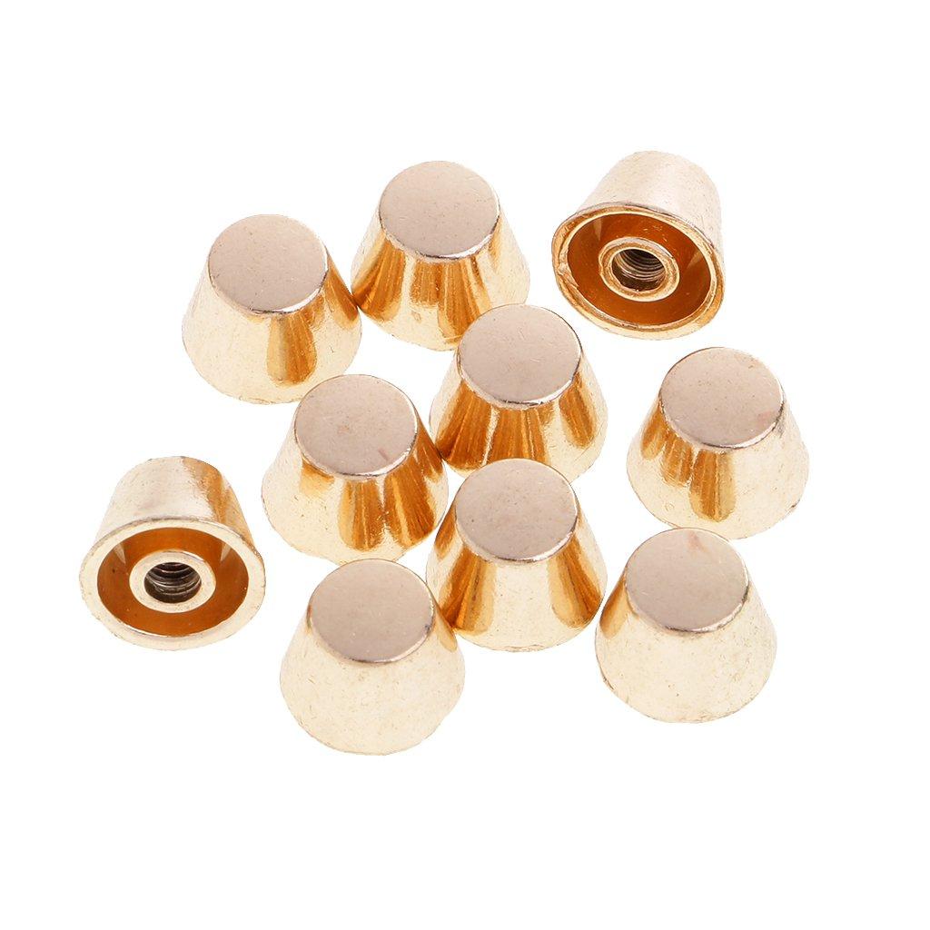 Dor/é Sharplace Ensemble DE 10 Pcs Rivet Clou pour D/écoration De Ceinture V/êtement Artisanale DIY